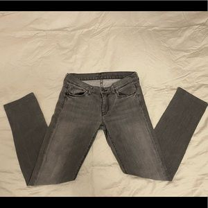 7 of All Man Kind Grey Low Rise Jeans